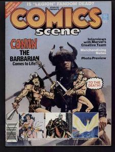 COMICS SCENE   4 TEZUKA,PRINCE VALIANT,CONAN