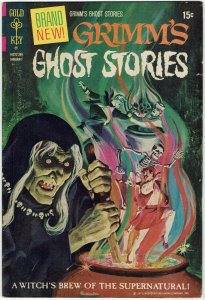 Grimm's Ghost Stories #1 Gold Key FN