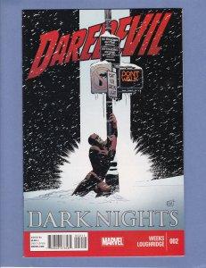 Daredevil Dark Nights #2 NM