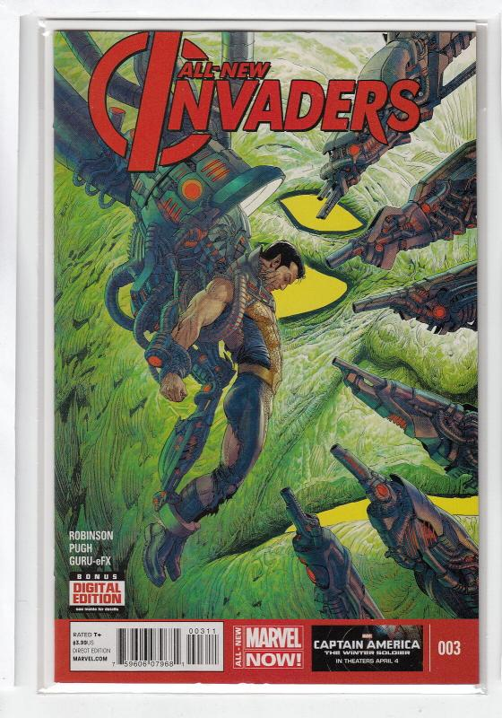 ALL NEW INVADERS (2013 MARVEL) #3 NM- AGGTNB