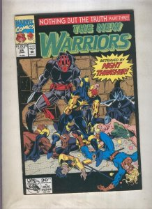 The New Warriors volumen 1 numero 024 (1992)