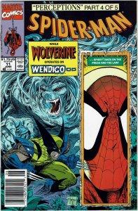 Spider-Man #11 (1990 v1) Todd McFarlane Newsstand Wolverine NM