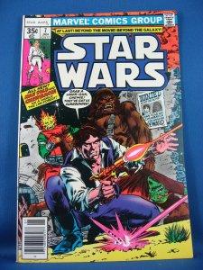 STAR WARS 7 VF NM- 1978