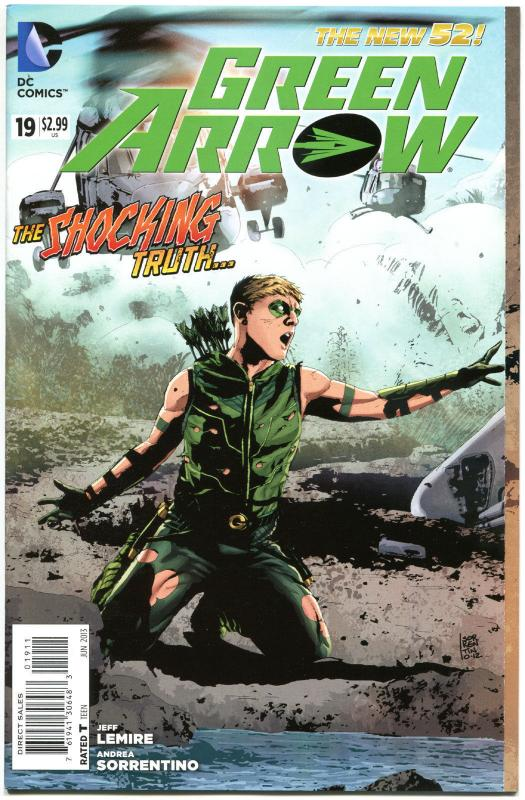 GREEN ARROW #19, NM, 52, Jeff Lemire, Kill Machine, 2013, more GA in store