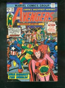 THE AVENGERS #147 1976-SQUADRON SINISTER-GLOSSY HIGH GR VF