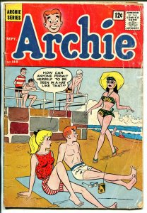 Archie #149 1964-swimsuit cover-Betty-Veronica-G