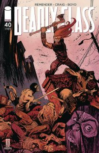 DEADLY CLASS (2013 IMAGE) #40 VARIANT CVR B HARREN PRESALE-09/25