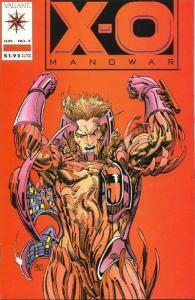 X-O Manowar (1992 series) #5, NM + (Stock photo)