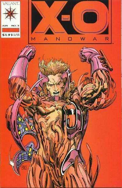 X-O Manowar (1992 series) #5, VF+ (Stock photo)
