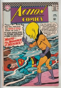 Action Comics #338 (Jun-66) VF/NM High-Grade Superman, Supergirl