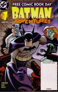 BATMAN ADVENTURES #1-JUNE 2003-DC COMIC-POSION IVY VF/NM