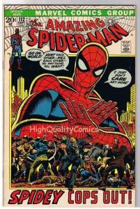 SPIDER-MAN #112, FN+, Amazing, Quits, John Romita, 1963, more  ASM in store