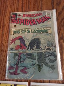 Fun Spiderman Comic Lot! Appearances By Cyclone, Molten Man, Scorpion.