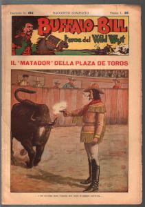 Buffalo Bill Hero Of The Wild West #194 1950-Italian edition-Dime Novel-FR