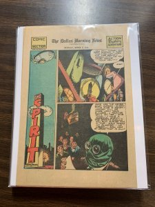The Spirit Comic Book Section Newspaper Very Fine Or Better 1942 April 5