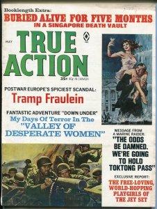 True Action  5/1966-Atlas-Gaby Baron-Mort Kunstler-Copeland-pulp-FN
