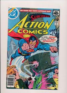 DC Action Comics #490 SUPERMAN VG/FINE (SRU170)