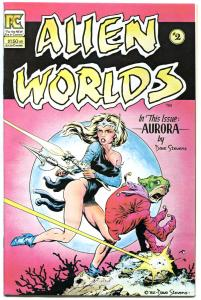ALIEN WORLDS #2, VF/NM, Dave Stevens, Pacific Comics, 1983, more DS in store