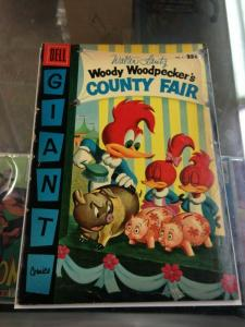 DELL Giant Woody Woodpecker's County Fair 5 VG-   9/56'