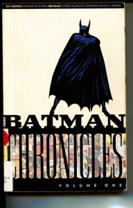 Batman Chronicles Volume 1 TPB trade