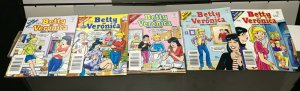 BETTY and VERONICA DIGEST MAGAZINE LOT of 5 Early-Mid 2000's FINE/newish! #7