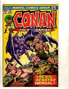 Lot Of 6 Conan The Barbarian Marvel Comic Books # 30 31 32 35 36 38 Sonja RS1