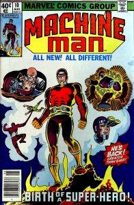 Machine Man #10 (1979)