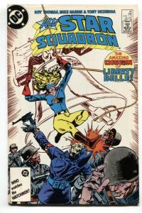 ALL-STAR SQUADRON #61 1986 comic book Origin of LIBERTY BELLE