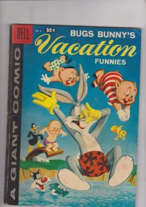 Dell Giant Bugs Bunny's Vacation Funnies #8