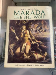 Marvel Graphic Novel Marada the She-Wolf   VG/VG+