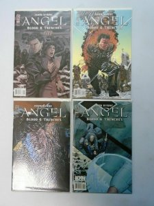 Angel Blood and Trenches, Set:#1-4, 8.0/VF (2009)