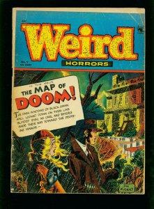 WEIRD HORRORS #9 1953-PRE CODE HORROR-JOE KUBERT- VG-