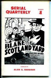 Serial Quarterly #1 1966-synopsis-Superman-Blake of Scotland Yard-1st issue-VF