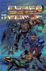 Cyberforce (1993 series) #9, NM + (Stock photo)