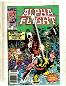Lot of 12 Alpha Flight Marvel Comics #17 18 21 22 23 25 28 29 30 32 36 38 GB1