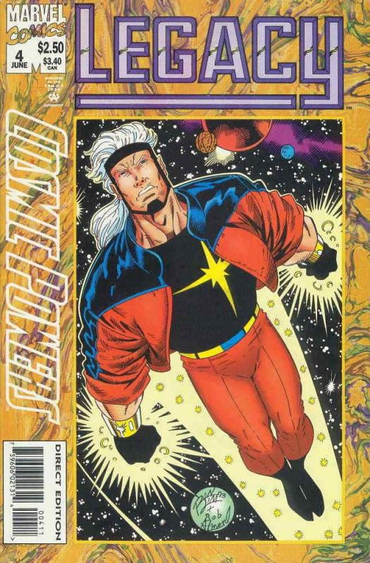 Cosmic Powers #4 VF/NM; Marvel | save on shipping - details inside