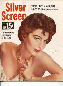 Silver Screen-Ava Gardner-Bob Hope-Gary Cooper-April-1959