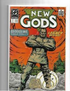 NEW GODS #7-12 - NM/NM+ DARKSEID - BLOODLINE SAGA - COPPER AGE KEY STORYLINE SET