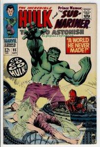 TALES to ASTONISH #95, VF+, Hulk, Sub-Mariner, 1959, more TTA in store