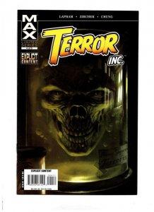 TERROR INC #4, NM-, Decomposing Hitman, David Lapham, 2007, Horror