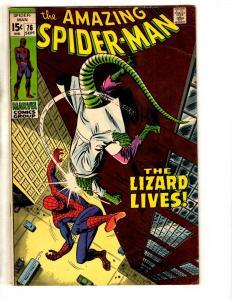 Amazing Spider-Man # 76 FN/VF Marvel Comic Book Lizard Goblin Rhino Kingpin JD1
