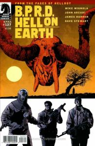 B.P.R.D. Hell on Earth #127 FN; Dark Horse | save on shipping - details inside