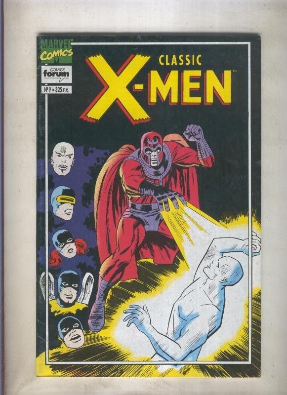 Classic X Men volumen 2 numero 09: Y ninguno sobrevivira (numerado 1 en trasera)