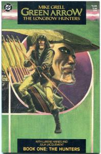 Green Arrow: The Longbow Hunters #1 987- 1st Shado VF/NM