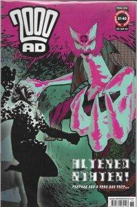 2000 AD #1276 FN Judge Dredd, Shakara, Storming Heaven, Bad Company