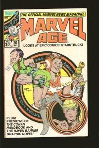 Marvel Comics Marvel Age Vol 1 No 126 May 1985 1985