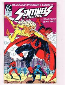 Captain Paragon & The Sentinels Of Justice #4 VF AC Comics Comic Book DE47 AD33