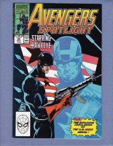 Avengers Spotlight #34 NM- Marvel 1990