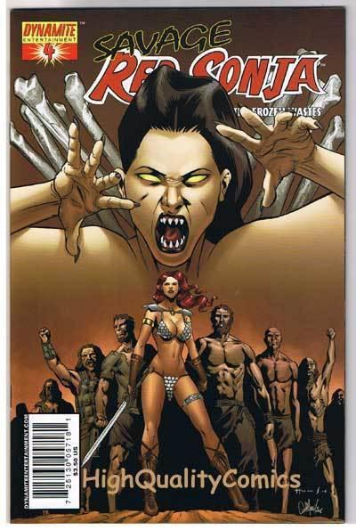 RED SONJA : Queen of the Frozen Wastes #4, Homs, NM, more RS in store