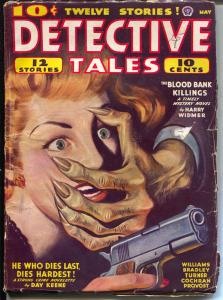 Detective Tales 5/1943-Popular-hard boiled crime-gun moll-Day Keene-VG